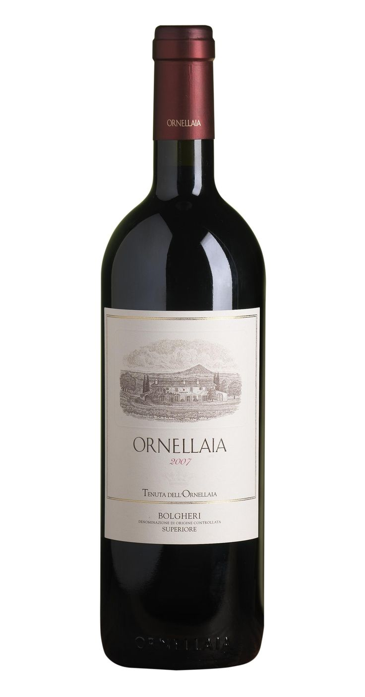 "Italian red wine ""Ornellaia"" (Bolgheri)  This wine blew my mind!!"