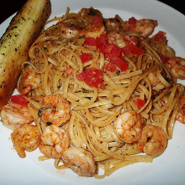 Caribbean Chain Restaurant Recipes: Calypso Shrimp Pasta