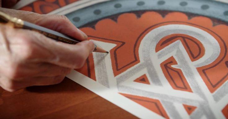 Louise Fili Graphic Designer Sketch