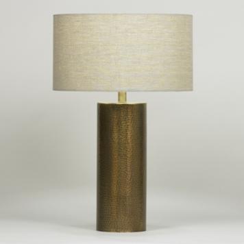 (H) Julian Table Lamp, Linen Shade, 3-way 150W