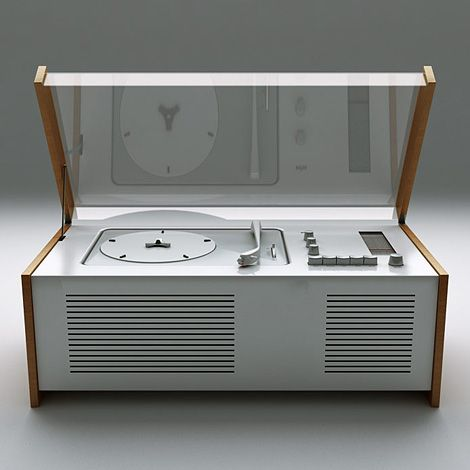 braun SK4 record player, by dieter rams.