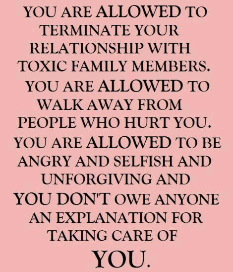 You have to take care of you.....and it's NOT selfish and it doesn't mean you're unforgiving either.  If people hurt you over and over, you have to protect yourself.