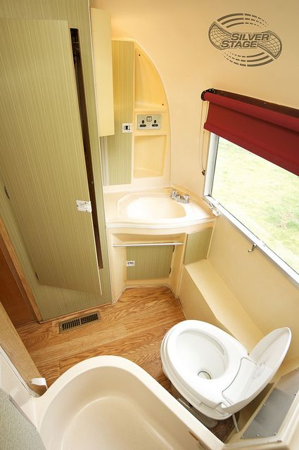 Airstream 2 Bathroom and Shower by Silver Stage, via Flickr its actually quite spacious
