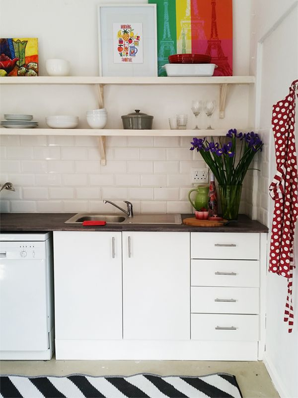 How Do You Create A Tiny Kitchen On Budget With Little Creativity