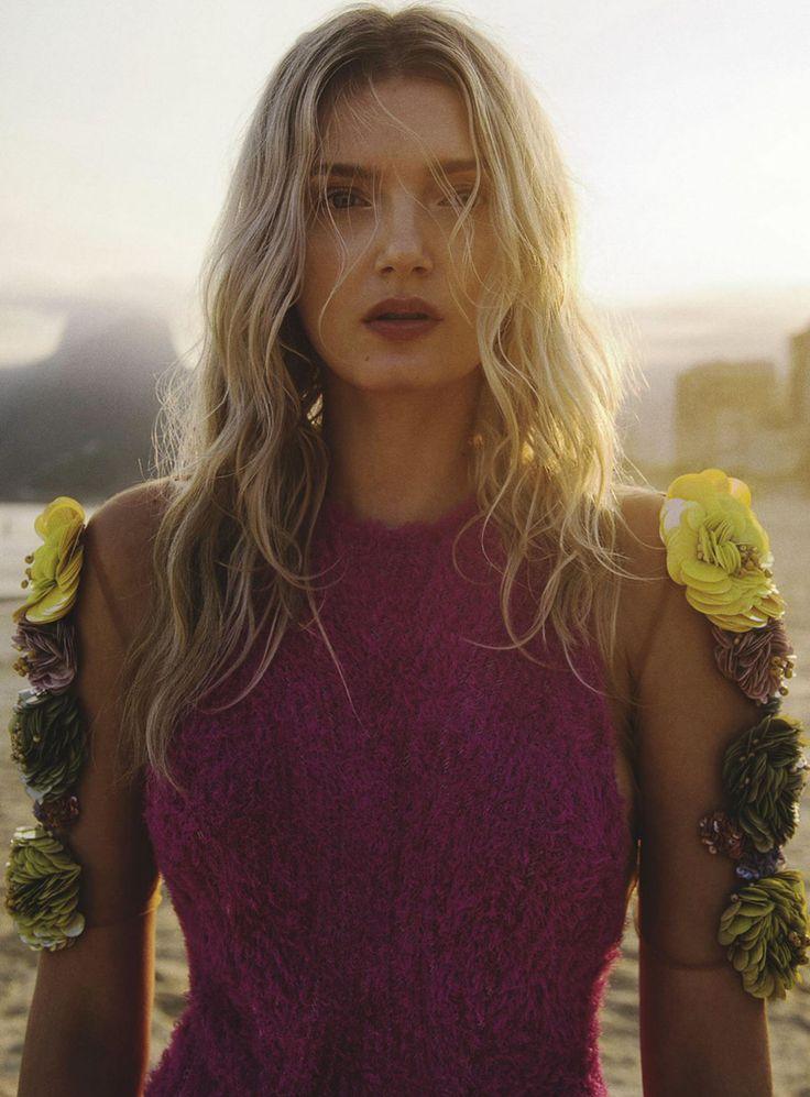 Vogue Australia September 2016 Lily Donaldson by Sebastian Kim-7