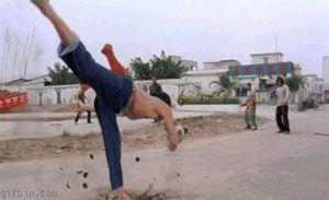 Shaolin Soccer Matrix Effect
