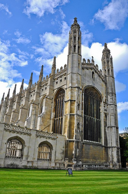 Cambridge University. Can't believe I'm applying this weekend!