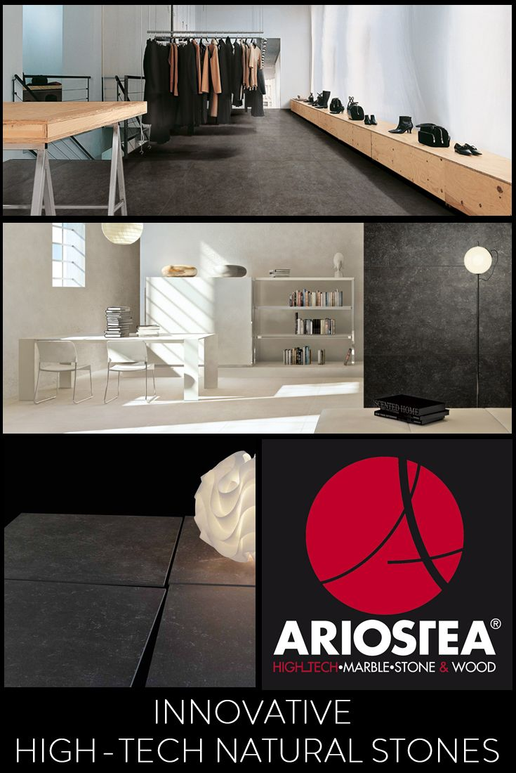 FULL-BODY PORCELAIN STONEWARE The centuries-long northern italian stone traditions, with their welcoming and robust attitude evoking the austere natural landscapes of the region, merges with the high technology of innovative slabs to create a large family of high quality products. Developed in the Ariostea laboratories with great attention to detail, the materials are also offered with three refined finishes: soft, antique and textured.