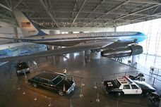 Ronald Reagan Library, Air Force One, motorcade, presidential site, Simi Valley, California