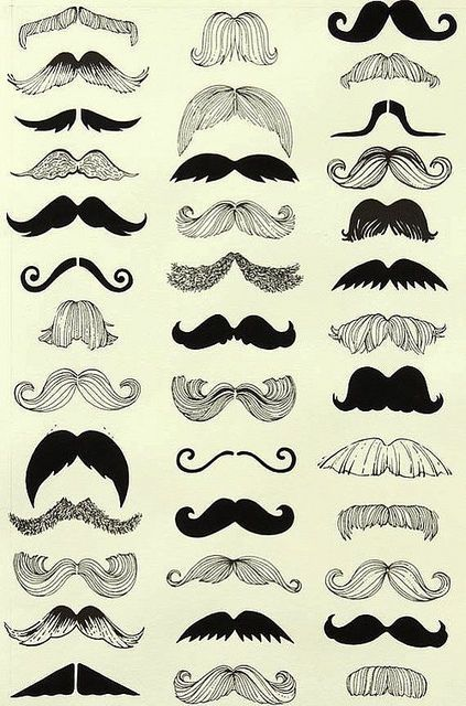 What stache are you? Visit  http://www.facebook.com/FratimanKingaDesign