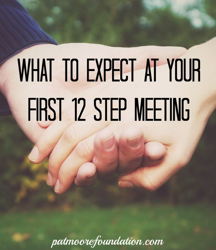 12 step meeting reaction Practices (eg, 12-step meeting attendance, reading organization  the first  type of stress is a psychological reaction to an event that has.