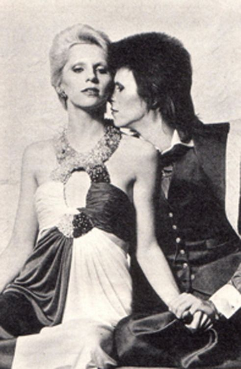 David and Angie Bowie, 1973