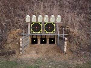 Image result for Homemade Outdoor Shooting Range