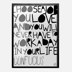 Choose The Job Poster, £18.70, now featured on Fab.