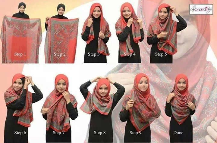 Simple again Hijab style