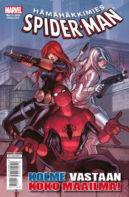Hämähäkkimies - Spider-Man nro 7/2014. #sarjakuva #sarjakuvalehti #sarjis #egmont #marvel