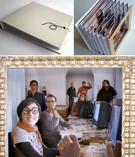 tunnel book from a photograph - so cool!
