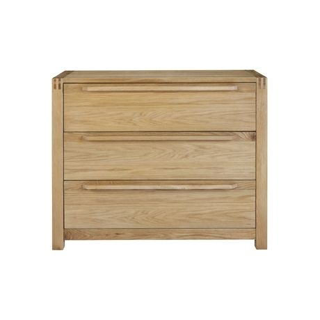 Pendleton 3 Drawer Chest | Freedom Furniture and Homewares