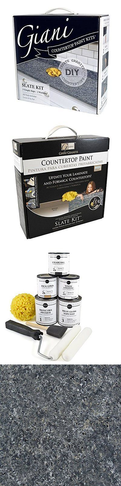 Other Paint and Varnish 180980: Giani Granite Fg-Gi Slate Slate Countertop Paint Kit New -> BUY IT NOW ONLY: $73.79 on eBay!