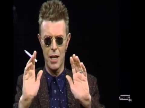Two terrific PBS interviews, one from 1996 and a longer one from 1998, in which David Bowie reveals that he doesn't think of himself primarily as a musician,...