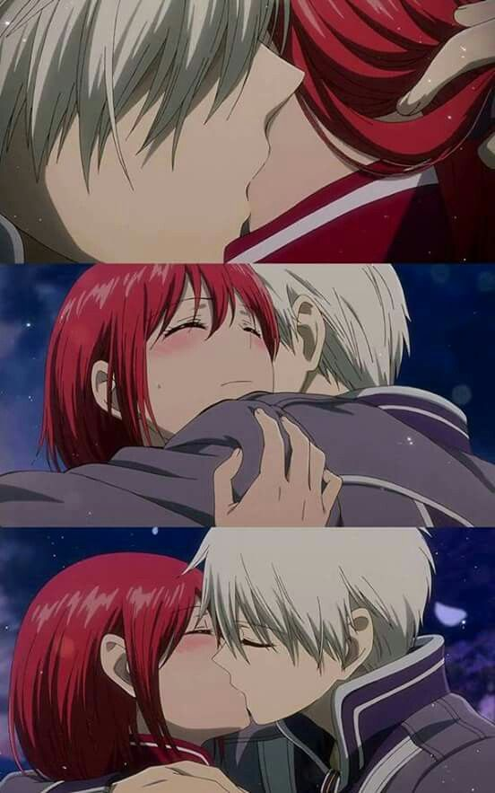 Thoroughly enjoyed Akagami no Shirayukihime #zen #shirayuki <3