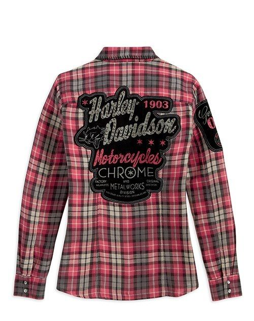 It's pink  Harley Davidson! Perfect for me!