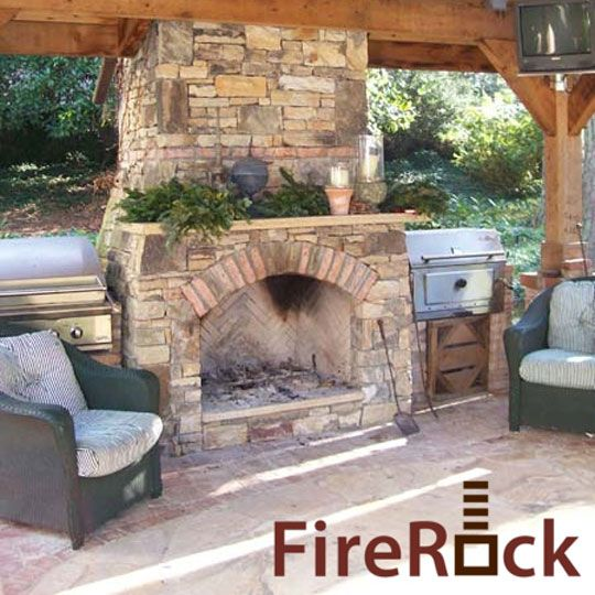 7 Best Outdoor Fireplaces Images On Pinterest Outdoor