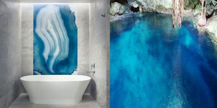 Bathroom Design Trends: Are Geode Walls The Subway Tiles?