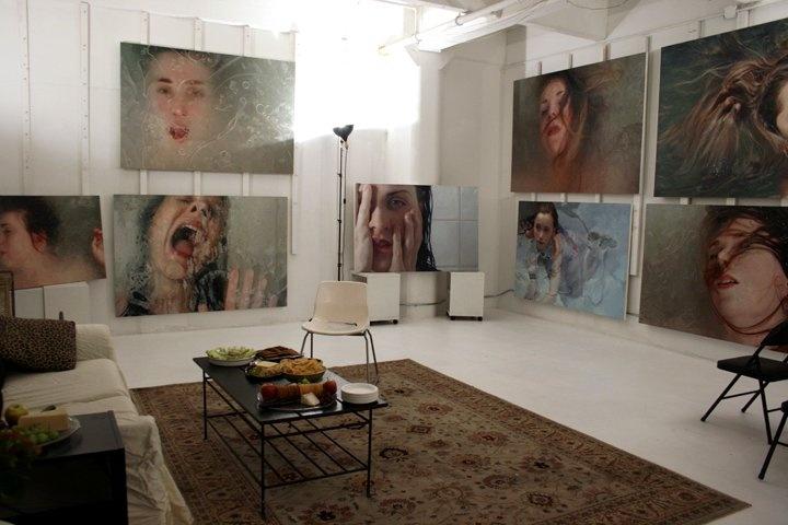 Alyssa Monk's studio