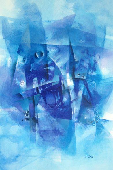 La materia si racconta nel blu