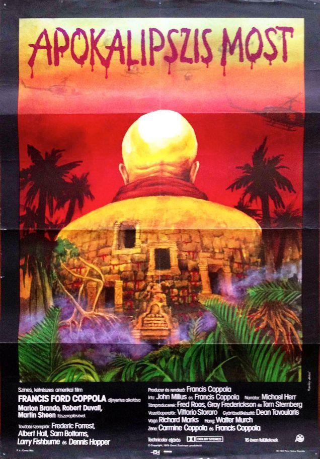 Apocalypse Now (1979, dir.: Francis Ford Coppola) – Artist: Simon Koppány and Mária Hódosi, 1983