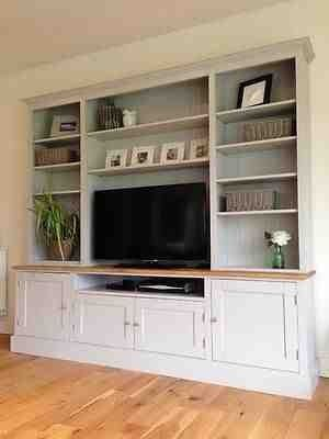 Painted Entertainment Unit - Furniture4yourhome