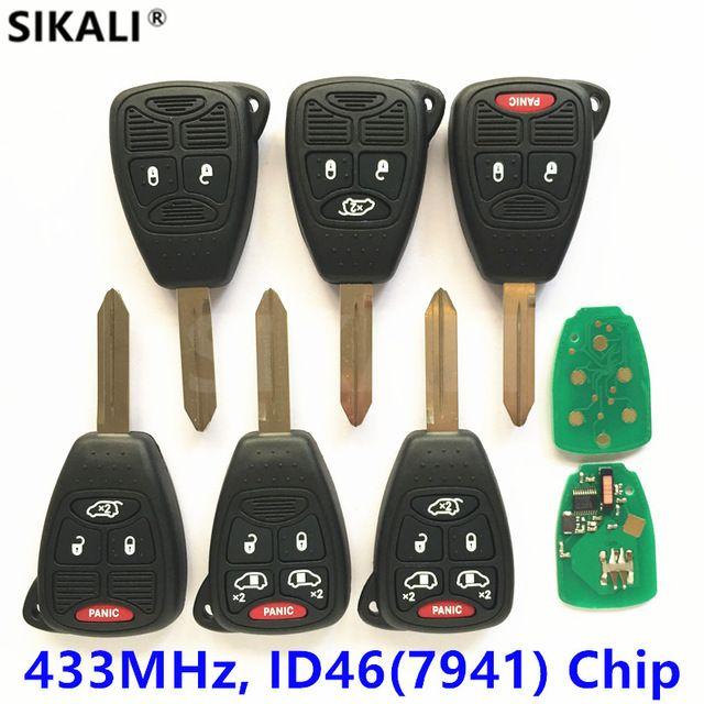 Remote Flip Key For Dodge Nitro Caliber Ram 1500 2500 3500 Charger