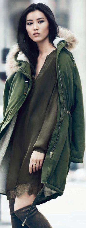 Liu Wen for H&M Fall/Winter 2014-2015