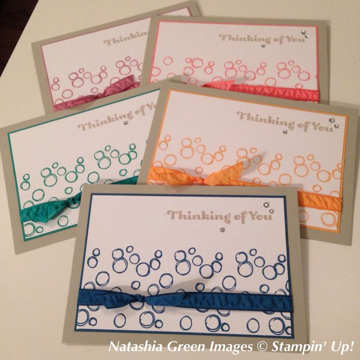 Playful Backgrounds - Stampin' Up! Cased from stampinclub.de