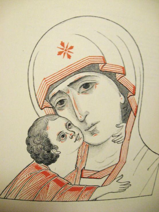 Gallery.ru / Фото #19 - Прориси икон - vihrova