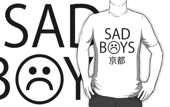 quotsad boysquot hoodie yung lean by heightsc mens fashion