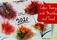 New Year Fireworks! Mixing Primary Colours