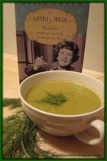 Zupa krem ze szparagów według Juli Child