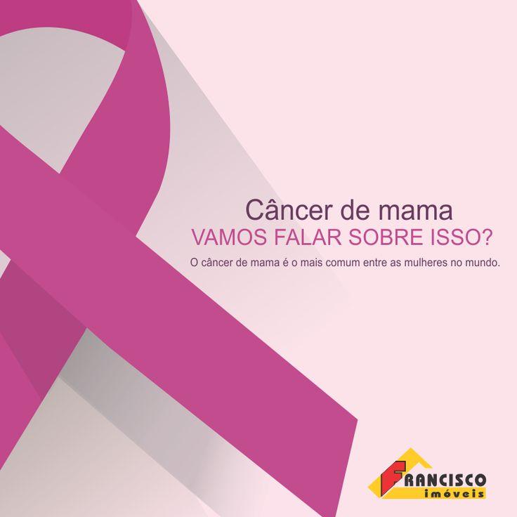 Cuide de você! O câncer de mama é uma doença causada pela multiplicação de células anormais da mama, que formam um tumor. Há vários tipos de câncer de mama. Alguns tipos têm desenvolvimento rápido enquanto outros são mais lentos. A idade é um dos mais importantes fatores de risco para a doença (cerca de quatro em cada cinco casos ocorrem após os 50 anos).