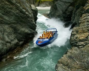 Skippers Canyon Jet Queenstown New Zealand