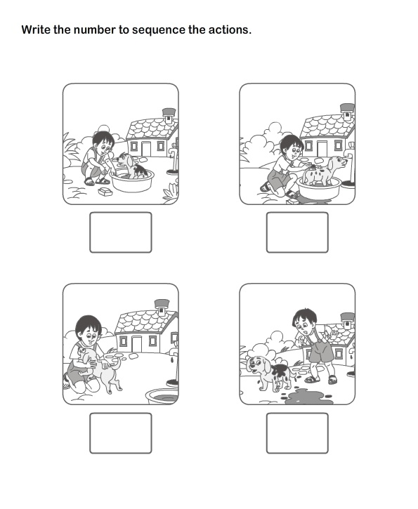 Picture Sequence Worksheet 18 - esl-efl Worksheets - kindergarten Worksheets