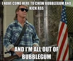 """RIP """"Rowdy"""" Roddy Piper. Awesome wrestler and turns out not a bad actor. Loved this line."""