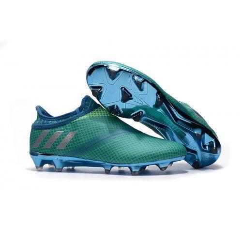 Butik Adidas MESSI 16 Pureagility FG AG Bold-Grøn til salg.