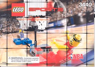 GAME SET WITH BALL 3440 - LEGO Sports - Instrucciones - LEGO.com