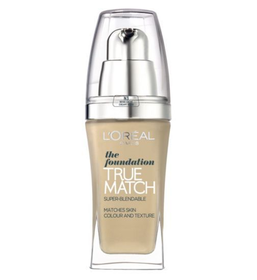 L'Oréal True Match Foundation | Boots - £10/$15 - W2
