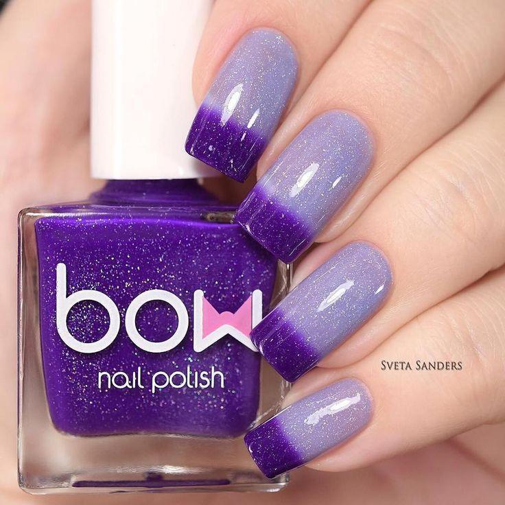 Bow Nail Polish - Thermo Top Coat Violet