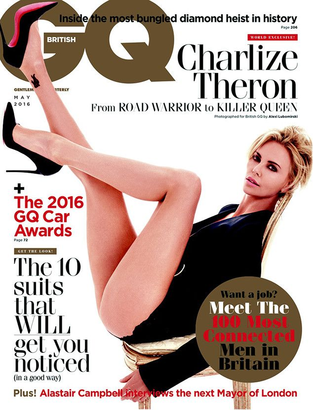 Charlize Theron: It's Hard Being a Gorgeous Actress | E! Online