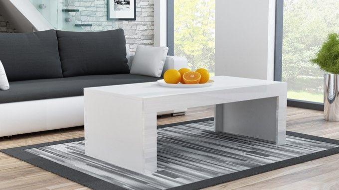 Milano coffee table white