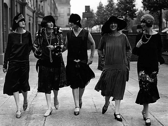 ジャズエイジ・フラッパーガール・1920年代のファッション